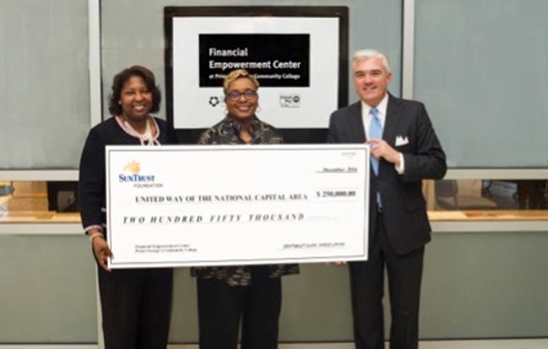 SunTrust Foundation Awards UWNCA with $250K to Support Region's First Financial Empowerment Center